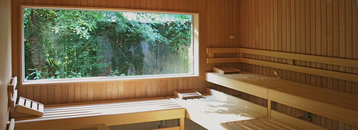 eva saunabau wellness oasen f r zu hause. Black Bedroom Furniture Sets. Home Design Ideas